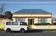 Christchurch, New Zealand (stephen trinder) Tags: stephentrinder stephentrinderphotography aotearoa kiwi landscape van christchurch christchurchnewzealand mitsubishi l300 house nz newzealand