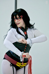 Kamo Con 4 bis (bax390) Tags: cosplay cosplaygirl cosplayer cosplaysexy costume videogame anime hero dccomic tvshow portrait makeup frenchcosplay photographercosplay
