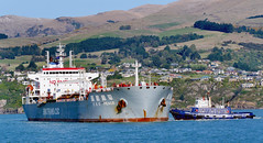 CSC PEACE Oil Products Tanker. (Bernard Spragg) Tags: marine ships oiltanker nautical vessel tugboat