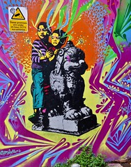 Kids, London UK (Robby Virus) Tags: london england uk unitedkingdom britain greatbritain gb street art mural kids children