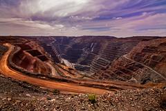 The Super Pit (Relive Photoghraphy) Tags: kalgoorlie boulder super pit mining blasting