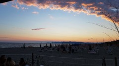 Many centuries ago... I remember (Ladyhelen_) Tags: beach italy dreamer dreams sunset ocean sea landscape blue words verses poem poetry spiaggia toscana cloudescape landscapephotography pink bluesky sky holidays relax colors remember heaven seascape cielo coast