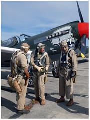 "Curtiss P-40N Warhawk ""Little Jeanne"" (F-AZKU) (Aerofossile2012) Tags: meeting airshow aviation melun villaroche airlegend2018 curtiss p40n warhawk ""little jeanne"" fazku reenactors reconstituants"