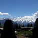 Sieste au Mont-Blanc