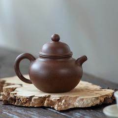 """Yixing Teapot """"duo qiu""""Zi Ni Mud 120CC  for Chinese Tea (John@Kingtea) Tags: yixing teapot duoqiuzi ni mud 120cc for chinese tea"""