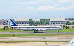 Royal Thai Air Force HS-TYV Airbus A340-500 (Kan_Rattaphol) Tags: aircraft airplane airbus a345 a340500 ratf royalthaiairforce hstyv 60204 dmk vtbd