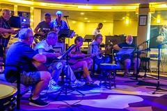 Guitar Group (Tony Shertila) Tags: nikon5300 allan atrium concert cruise guitar guitargroup guitars indoor music peter seaday ship singing tony tourist worldcruise