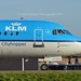 KLM Cityhopper PH-KZC Fokker F70 cn/11566 wfu 3 Jul 2017 reg 001 Myanmar Air Force 27 Oct 2017 @ Taxiway Q EHAM / AMS 28-12-2015
