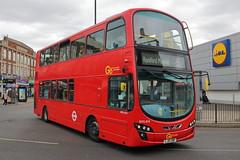 WVL454 LJ61 GWP (ANDY'S UK TRANSPORT PAGE) Tags: buses romford london goaheadlondon bluetriangle