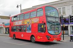 WVL485 LJ61 NWU (ANDY'S UK TRANSPORT PAGE) Tags: buses romford london goaheadlondon bluetriangle
