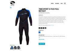 Bare S-Flex Nixie (Arne Kuilman) Tags: bare sflex nixie wetsuit natpak suit pak diving sublub gear 7mm