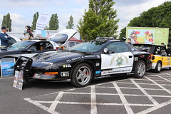 Pontiac Firebird P509FTA (Andrew 2.8i) Tags: swccc stadium city cardiff show voitures voiture autos auto cars car classics classic welsh wales uk kingdom united american coupe sports sportscar police emergency 999 911 highwaypatrol statetrooper v8 firebird pontiac