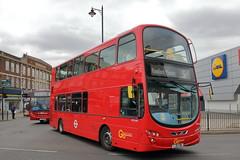 WVL446 LJ61 GWE (ANDY'S UK TRANSPORT PAGE) Tags: buses romford london goaheadlondon docklandsbuses