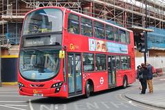 WVL486 LJ61 NWV (ANDY'S UK TRANSPORT PAGE) Tags: buses romford london goaheadlondon bluetriangle