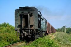 CFM 2ТЭ10Л-2077 | Freight train to Balti | Moldava (Rostam Novák) Tags: rostamnovak cfm moldava moldavarailways railway railways track zug train vlak trainieren поезд entrenar moldawien moldavia молдова 2тэ10л2077 2тэ10л ocnita eisenbahn железнаядорога ferrocarril
