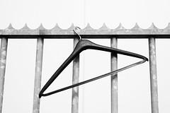 Hang (Arne Kuilman) Tags: hanger clotheshanger hek fence hekwerk amsterdam