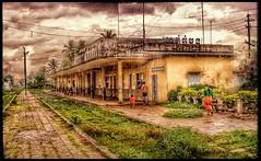 Rain, Battambang Station. (the jacal) Tags: cambodia cambodge battambang railway train trains railwaystation trainstation decay tracks rain asia southeastasia olympus olympussp500uz happyplanet asiafavorites