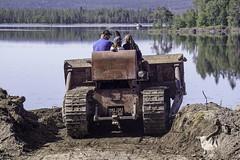 International Harvester (Nické Eriksson) Tags: lappland vilhelmina nästansjö sweden vintage international td18