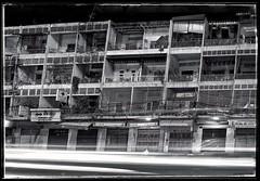 Street 182, Phnom Penh. (the jacal) Tags: cambodge cambodia phnompenh nightphotography longexposure street182 southeastasia olympusepm2 olympus