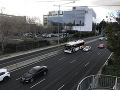 #261 CDC Melbourne, Volvo B5LH, Volgren Optimus driving on Monash Freeway #cdcmelbourne #cdcvictoria #volgren #optimus #volvo #photography #iphonephotographer #iphone7 #monashfreeway #southyarra #cremorne #spotting #allrounder (Jess's Musical Photographic Diary) Tags: 261 cdcmelbourne cdcvictoria volgren optimus volvo photography iphonephotographer iphone7 monashfreeway southyarra cremorne spotting allrounder