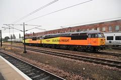 Colas 'Grids' 56049 & 087  Doncaster (Locma51) Tags: colas 56049 56087 grid class56 brel brtype5