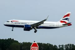 20190803_001 (PlanePixNase) Tags: aircraft airport planespotting haj eddv hannover langenhagen british britishairways a320neo 320 a320 neo airbus