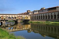 Ponte Vecchio, Florence Italy 義大利佛羅倫斯老橋 (W. Wilson Chen) Tags: ponte vecchio florence italy 義大利 佛羅倫斯 老橋 arno river