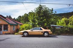machine. (jonathancastellino) Tags: pontiac piero leica q saltspringisland bc tree car original classic 80s road line wire wires