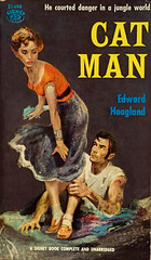 """""""Cat Man"""" by Edward Hoagland. Signet Books S-1499 (February 1958). First Printing. Cover Art by Stanley Zuckerberg. (lhboudreau) Tags: vintagepaperback vintagepaperbacks paperback paperbacks vintagepaperbackart paperbackart coverart paperbackbooks paperbackcovers paperbackbook signet signetbook signetbooks gga goodgirlart book books vintagepaperbackbook vintagepaperbackbooks illustration illustrations drawing drawings bookart bookcover lovelylady sexycover sexylady sexy paperbackcover vintagepaperbackcover vintagepaperbackcovers firstprinting 1958 february1958 signetpaperback signetpaperbacks signets1499 signetbooks1499 people text beautifulwoman charm charms catman edwardhoagland hoagland bigtop circus novel story travelingcircus cagehand zuckerberg stanleyzuckerberg art artwork paintedcover"""