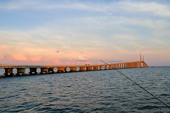 Sunshine Skyway Bridge, St Pete, Florida (Steve S. Yang) Tags: canon6d sunshine skyway bridge florida bay tamoa stpetersburg stpete