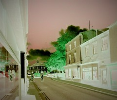 A negative view (Matt Bigwood) Tags: infrared dursley gloucestershire nikon d100 negative psychedelic