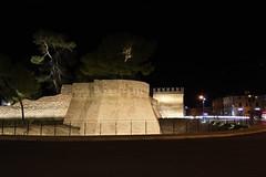 beleuchtet (grasso.gino) Tags: italien italy italia fano marken nikon d7200 nacht night beleuchtet illuminated bastion festung fortress