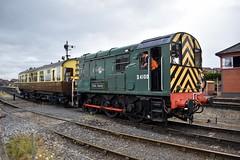 D4100 (Chris Strange) Tags: severn valley railway svr steam train heritage diesel highley kidderminster bridgnorth mpd class 09 saloon d4100