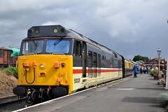 50031 (Chris Strange) Tags: severn valley railway svr steam train heritage diesel highley kidderminster bridgnorth mpd class 50 50031 hood