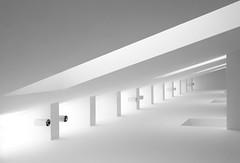 Brightness (HWHawerkamp) Tags: mmk germany frankfurt frankfurtammain museum artmuseum highkey gallery modern white architecture bw shapes geometry bright