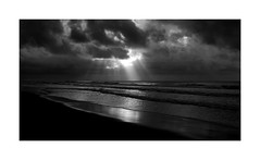 Approaching Storm (Joe Franklin Photography) Tags: obx storm outerbanks northcarolina nc blackandwhite bw joefranklin wwwjoefranklinphotographycom almostanything
