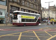405, Edinburgh, 28/08/18 (aecregent) Tags: edinburgh 280818 lothian lothianbuses volvo b5tl wright gemini3 405 bn64cpk 3 rear