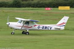 G-BMCV - 1985 Reims built Cessna F152, rolling for departure on Runway 26R at Barton (egcc) Tags: 1963 barton bonsall ce152 cessna cessna152 cessnaf152 cityairport egcb f152 gbmcv lightroom manchester reims