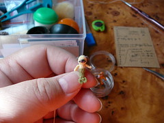 156-merpug 18mm (2) (tinyteensdolls) Tags: amigurumi artdoll amigurumidoll crochet craft crochetmini crochettoy crochetminiature crochetdoll miniature microcrochet mini minicrochet micro miniamigurumi mermaid merpug pug puppy crochetpuppy amigurumipuppy magic 18mm handmade toy tinyamigurumi tiny threadcrochet tinyart