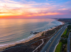 Crystal Cove State Beach (meeyak) Tags: crystalcove orangecounty california usa sunset colors sky clouds mikemarshall djimavicpro aerial flying ocean beach view water summer travel vacation outdoors adventure drone drones seascape landscape