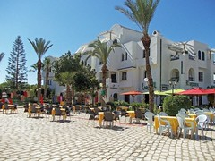 Летнее кафе (galina_kayumova) Tags: африка тунис сусс портэлькантауи архитектура