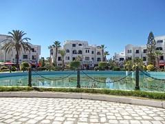 У бассейна (galina_kayumova) Tags: африка тунис сусс портэлькантауи архитектура