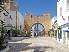 Ворота Порта Эль Кантауи (galina_kayumova) Tags: африка тунис сусс портэлькантауи архитектура