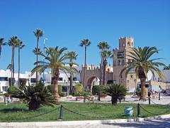 Ворота в Порт Эль Кантауи. Туристический шопинг-центр (galina_kayumova) Tags: африка тунис сусс портэлькантауи архитектура