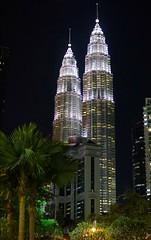 Petronas Towers at night (rksudan) Tags: petronas