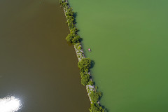 Tale of Two Lakes (Matt Champlin) Tags: quote environment indian nativeamericans water flx fingerlakes otisco life nature outdoors amazing peaceful pollution fishing lakelife drone aerial dji