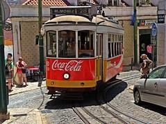 Discoverig Lisbon! (Jorge Cardim) Tags: lisboa portugal lisbon eléctrico cores colors image capture foto cidade ruas city streets people tram cardim jorge