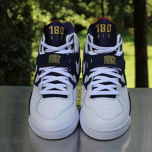 Nike Air Force 180 Olympic Men's Size 12 Barkley White Blue