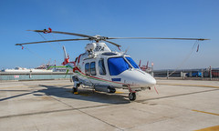 Transnet AW109SP & Goodrich Hoist (Andy.Gocher) Tags: andygocher canon100d sigma18250 helicopter agusta westland aw109 aw109sp harbour pilots south africa durban port aviation aircraft goodrich rescuehoist system