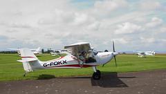 G-FOKX Eurofox (wwshack) Tags: eurofox scotland perthairport egpt sconeairport